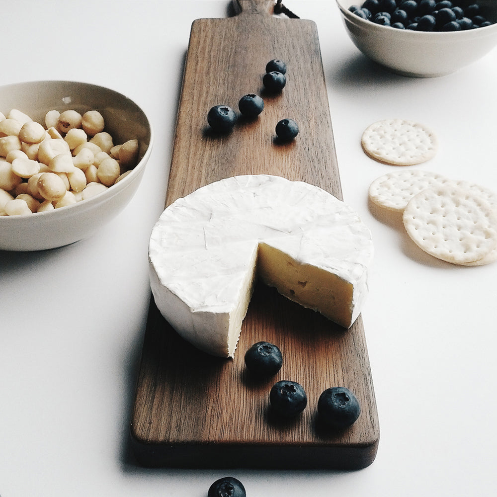 Personalised Planku Serving Board, crafted from solid and stunning Australian hardwood.
