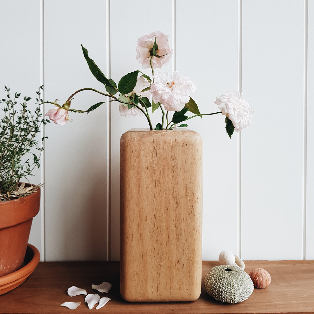 Pod Australian Hardwood Stem Vase by Manual Arts DEpt.