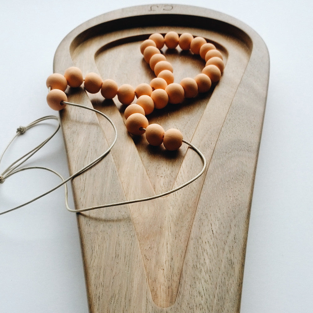 Personalised Raindrop Wooden Tray crafted from Australian hardwood - a personalised jewellery dish to last a lifetime.
