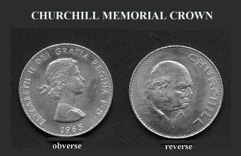 1965 Churchill Crown- Nickel- Br-Unc-Scarce. - J.V. Bond Company