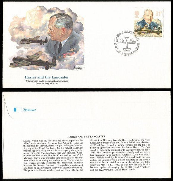 British FDC - J.V. Bond Company