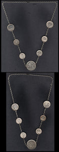 Sweetheart Coin Necklace 1939-45-Rare! - J.V. Bond Company