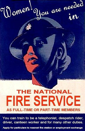 National Fire Service-Women- - J.V. Bond Company