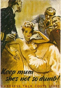 Keep Mum Shes Not So Dumb! - J.V. Bond Company
