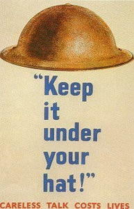 Keep It Under Your Hat! - J.V. Bond Company