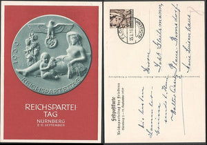 Nuremberg Party Rally Card-Rare 2-11 September - J.V. Bond Company