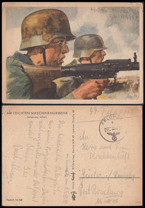 SS Feldpost Color Art Card- January - J.V. Bond Company
