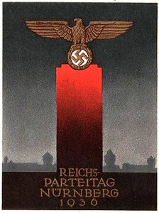 1936 Nazi Party Poster- - J.V. Bond Company