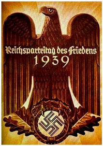 1939 Nazi Party Poster-This One Never Took Place. - J.V. Bond Company