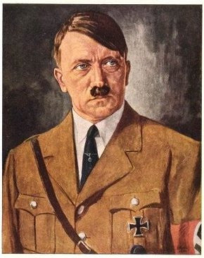 Der Fuhrer- from a painting- - J.V. Bond Company