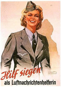 Help Bring Victory- Join the Womens Luftwaffe! - J.V. Bond Company