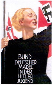 German maiden in the Hitler Youth. - J.V. Bond Company