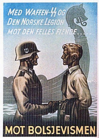 Join the SS and the Norwegian Legion against the common enemy! - J.V. Bond Company