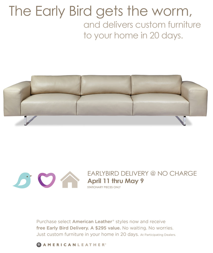 American Leather Offer exclusively at Furniture Market