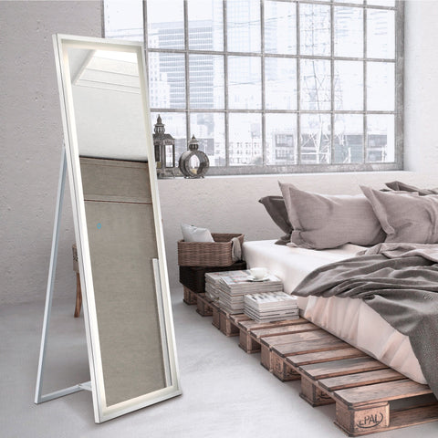 Free Standing Back-Lit LED Mirror