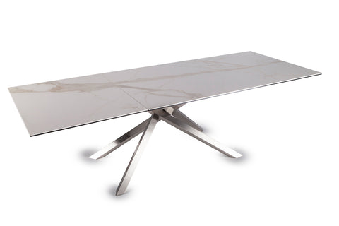 Boogie Satin Dining Table