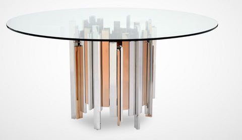 Rose Gold Dining Table