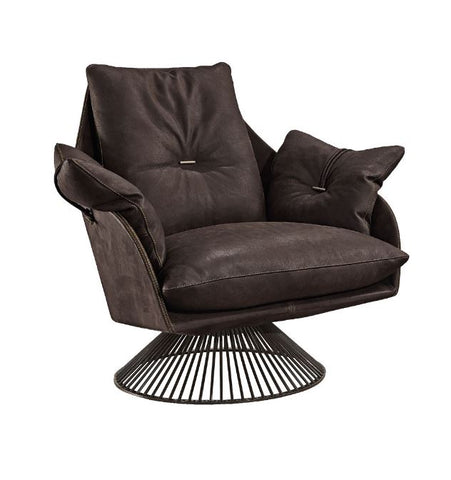 Gloss Swivel Arm Chair
