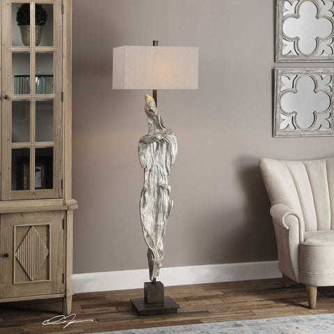 Zuberi Sculpture Floor Lamp