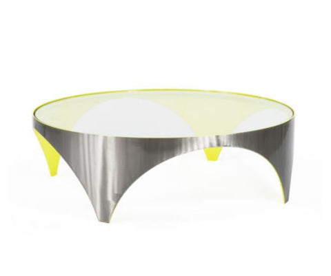 Solare Large Round Cocktail Table