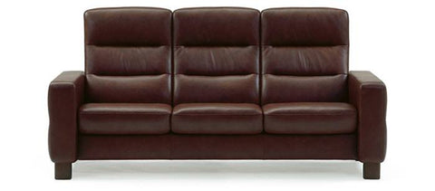 Stressless Wave 3s High Back Sofa