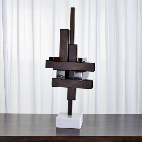 FLOATING PARALLELOGRAM SCULPTURE