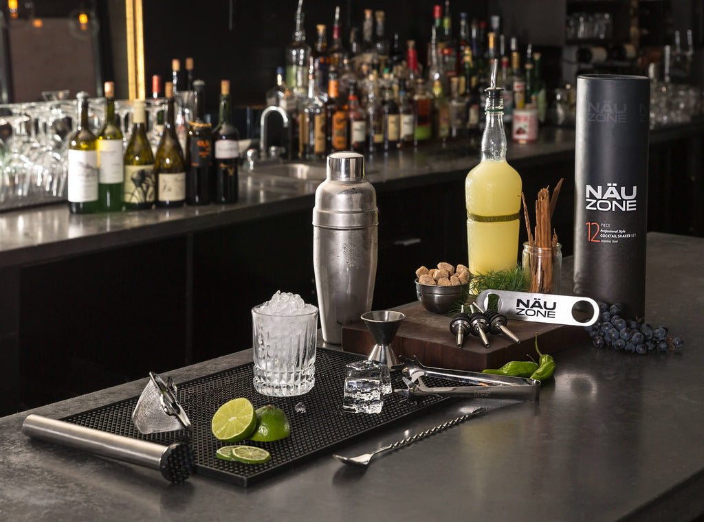 12 Piece Professional Cocktail Shaker Set: This Restaurant Quality Bartender Kit