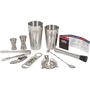 NÄU Zone 10 Piece Bartender Kit in Plain Brown Shipping Box