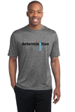 Legacy 'Determination' 26.2 Men's SS Heathered Tech Tee - Vintage Heather