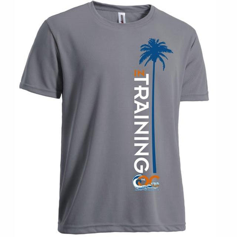 OC Marathon Men's In-Training Short Sleeve Tee - Grey