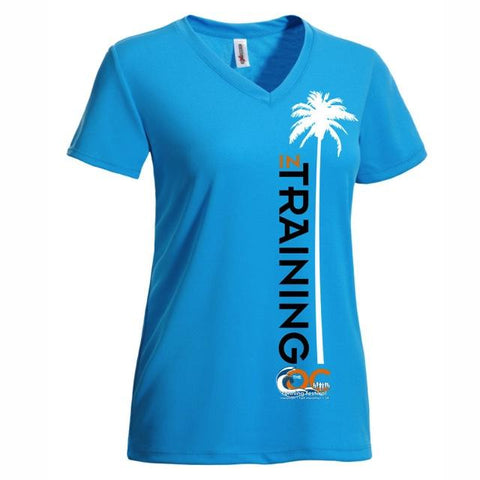 OC Marathon Women's In-Training Short Sleeve Tee - Teal