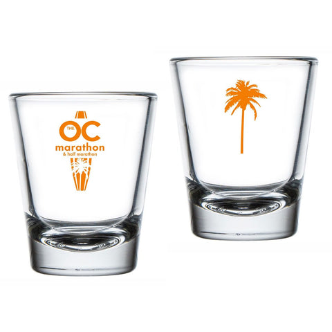 Palm Tree Shot Glass - 1.75 oz. Clear