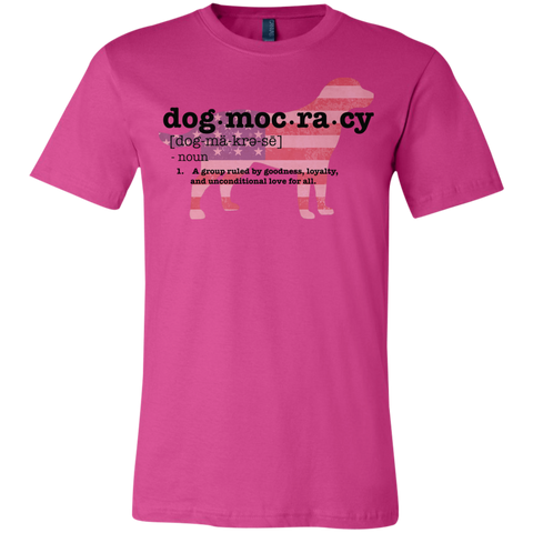 Dogmocracy Youth Bella+Canvas Jersey Short Sleeve T-Shirt