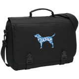 Love, Peace, and Dogs Messenger Briefcase