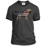 Dogmocracy Personalized Ringer Tee