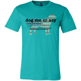 Dogmocracy Bella + Canvas Unisex Jersey Short-Sleeve T-Shirt