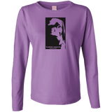 Dogs Have Souls Gaelic Verion Ladies Long Sleeve Cotton TShirt