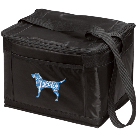 Love, Peace, and Dogs 12-Pack Cooler