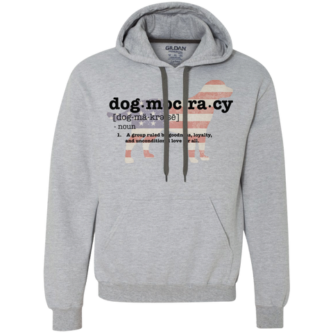 Dogmocracy Heavyweight Pullover Fleece Sweatshirt