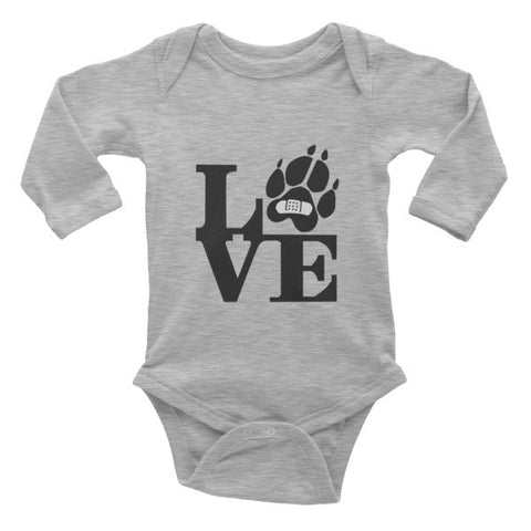 LOVE Infant Long-Sleeve Onsie