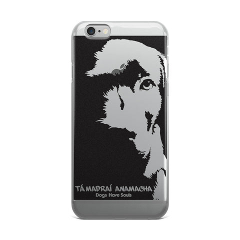 Dogs Have Souls (Gaelic Version II) iPhone case