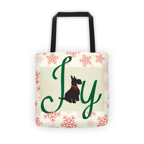 Joy of a Dog All-Over Tote bag