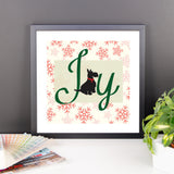 Joy of Dog Framed Photo Paper Poster