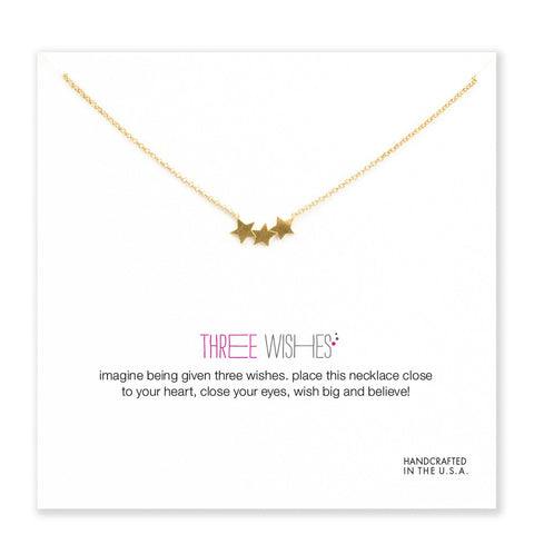 Three Wishes Necklace