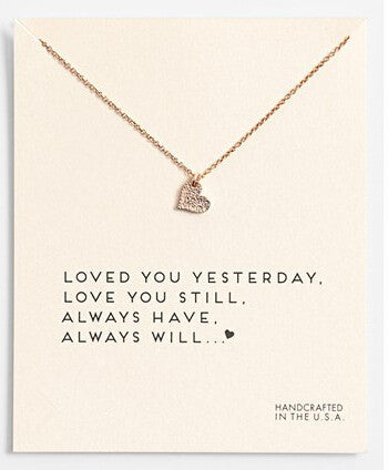Love You Still Necklace