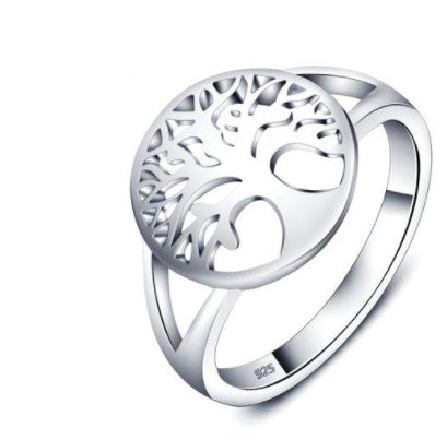 Tree of Life Classic Sterling Silver Ring