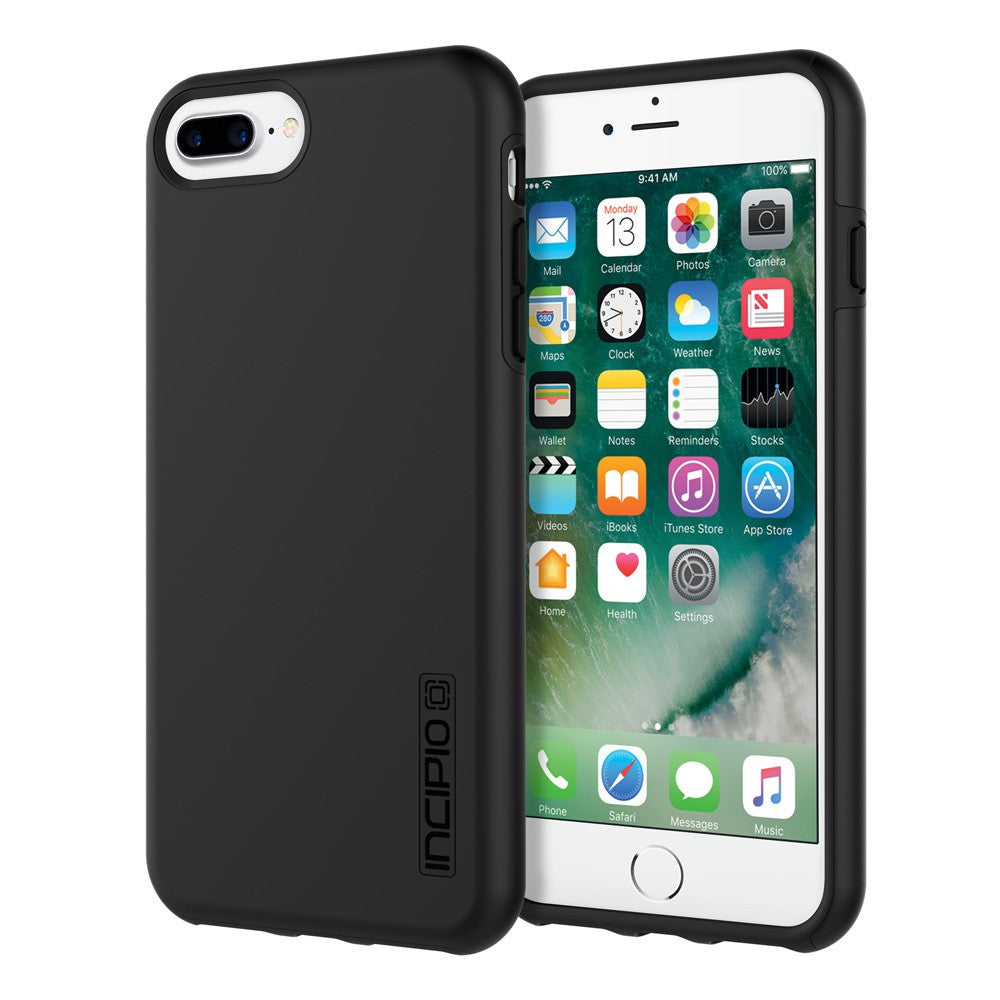 Black/Black Incipio® DualPro™ Hard Shell Case for iPhone 7/6/6s Plus