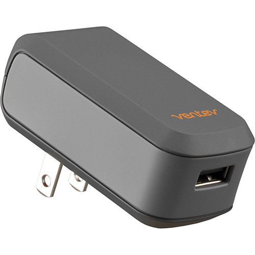 Side view of Ventev® USB Wallport e1100 Charger