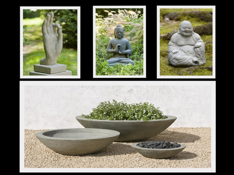 Zen Planters and Statuary