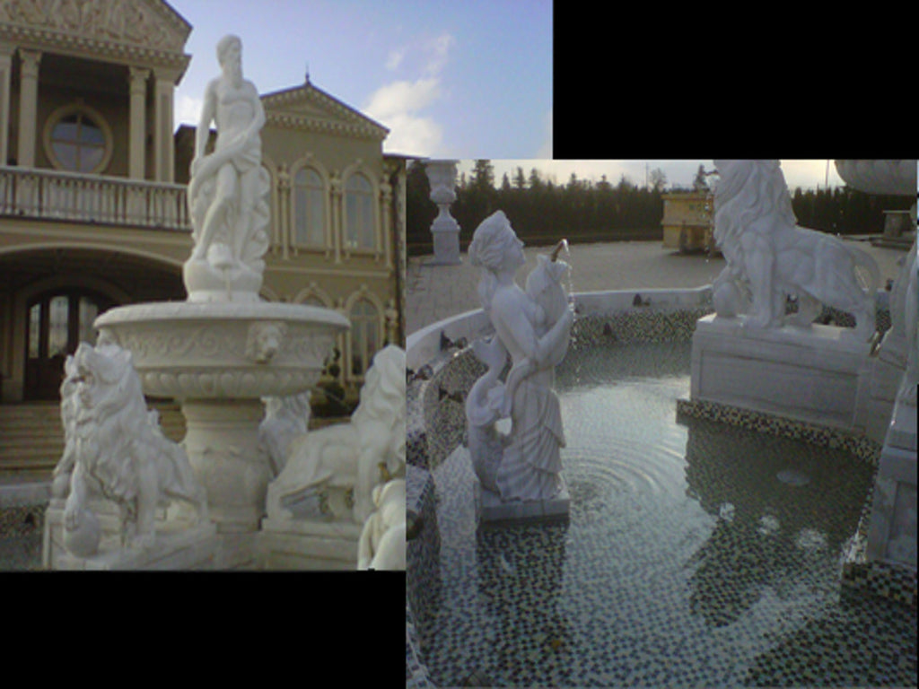 Idea: Hand-Carved Marble Fountain